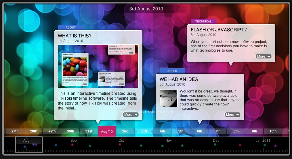Presentation Boosters – 3 Great Timeline Tools for Web, Video and PPT